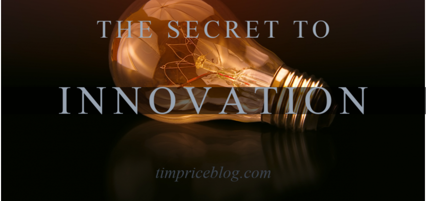 The Secret to Becoming Innovative