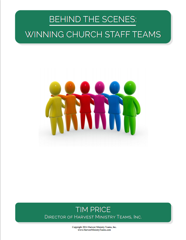 Free E-Book – Winning Church Staff Teams