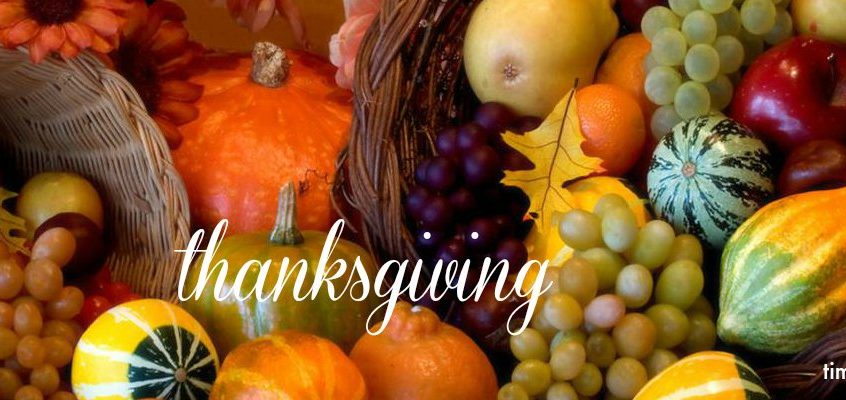 How Thanksgiving Helps Us Look To God
