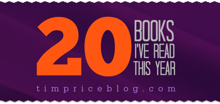 20 Books I've Read This Year – 2014
