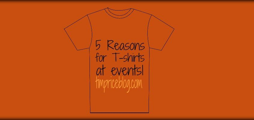 Five Reasons For T-Shirts