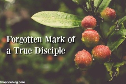 Forgotten Mark Of A True Disciple?