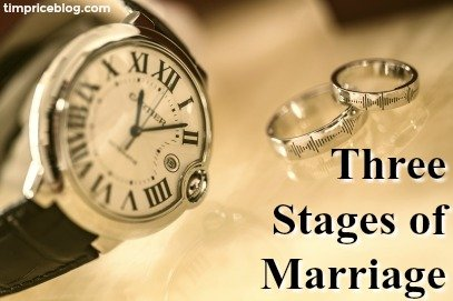 Three Stages Of Marriage