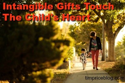 Intangible Gifts Touch The Child's Heart