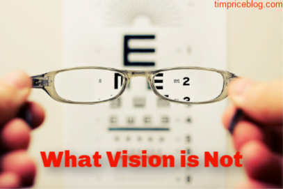 What Vision Is Not