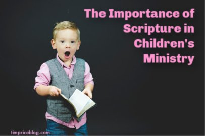The Importance of Scripture Memory in Children's Ministry
