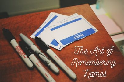 The Art of Remembering Names