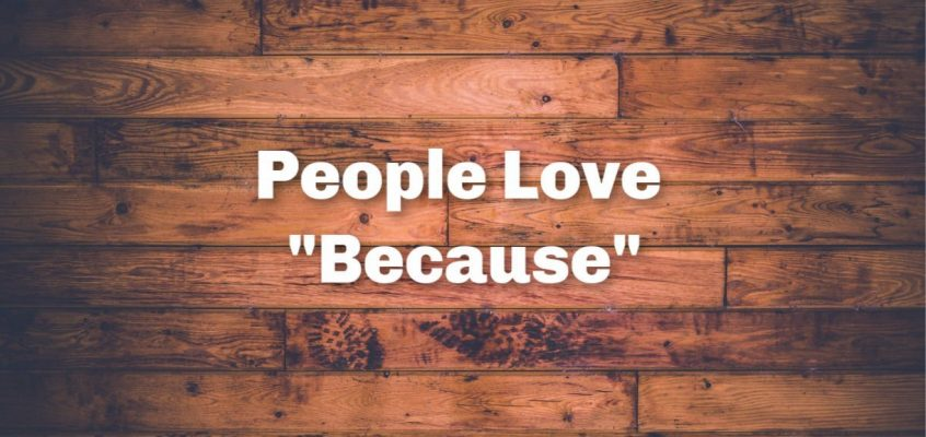 "People Love ""Because"""