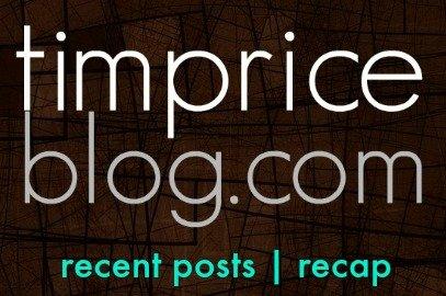 tim price blog recap