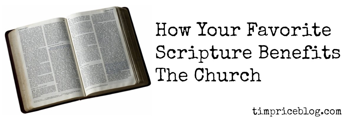 how your favorite scripture benefits the church 1170x400